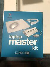 Digital Basics Laptop Master Kit Wireless Mouse 4 Port USB Ext Cable Pad Openbox