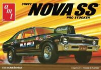 AMT 1142 1/25 Chevy Nova SS Pro Stocker Model Car NEW SEALED KIT MIB FREE SHIP