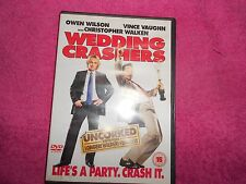 WEDDING CRASHERS - DVD - COMEDY - OWEN WILSON, VINCE VAUGHN