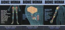 Bionic Collection The Bionic Woman Implant Case Topper Chase Card Set CT1-CT3