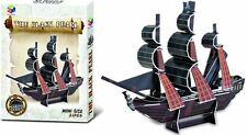 BLACK PEARL 3D PIRATE SHIP MODEL PUZZLE TOY CRAFT GIFT BIRTHDAY PARTY BAG FILLER