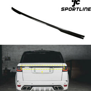 Fit For Land Rover Range Rover 2014-2020 Rear Tailgate Trunk Spoiler Wing Carbon