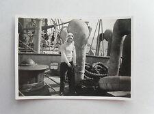 Vintage 40s/ WWII  B/W Photograph. HMS BEAGLE (H30)