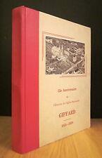 25e ANNIVERSAIRE DE L'ÉRECTION DE L'ÉGLISE PAROISSIALE DE GIFFARD 1934-1959.