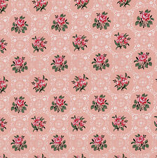 Dolls House Wallpaper 1/12th 1/24th scale Pink Quality Paper #118