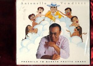 ANTONELLO VENDITTI-PRENDILO TU QUESTO FRUTTO AMARO DIGIPACK CD NUOVO SIGILLATO