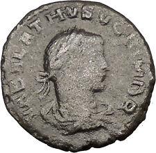 Aurelian & Vaballathus Palmyrene King 271AD Ancient Roman Coin i36503