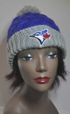 Toronto Blue Jays Bling Womens Beanie Knit Hat Cap Worlds Finest Crystals