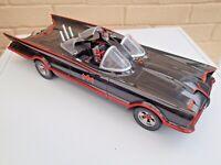 Batman Classic TV 1966 Batmobile 1:18 17in Model - Mattel