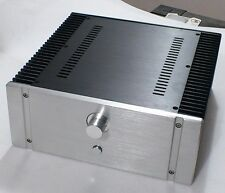 Silver 32-120 Full aluminum chassis Amplifier Case Power amp box 320×120×311mm