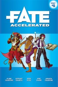 Fate Accelerated - Universal Story-telling Role Playing Game by Evil Hat Games