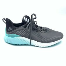 Adidas Womens Alphabounce 1W Running Shoes Graite Black Sneakers B39430 9.5 New