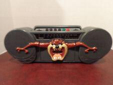 VINTAGE TASMANIAN DEVIL BOOM BOX TOSHIBA LT-410 TAZ RADIO CASSETTE RECORDER