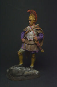 Tin soldier figure Hannibal Barca, Carthaginian General, 247-183 BC 54 mm