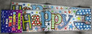 Holographic Foil Party Banner  - Happy 3rd Birthday