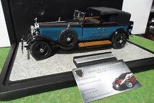 ROLLS ROYCE PHANTOM I de 1929 + vitrine 1/24 FRANKLIN MINT voiture miniature