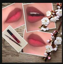 SALE Matte Lip kit lipCream-Red +Chocolate Lip Linner