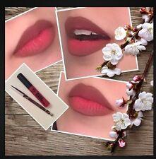 SALE Matte Lip kit lipCream-Red +Chocolate Lip Linner