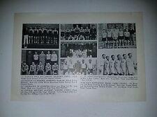 Shanghai Nanking China St. John's University 1933-34 Basketball Team Picture