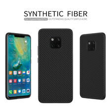 For Huawei Mate 20 Pro Nillkin Synthetic Carbon Fiber Slim Matte Back Case Cover