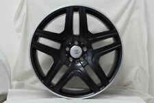 4x 21 inch x 10 NERO SET OF Wheels MERCEDES GLE GL GLS - AMG COMPATIBLE (ITALY)