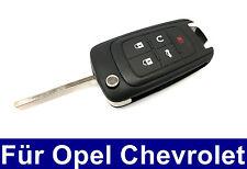 5Tasten Ersatz Klappschlüssel Gehäuse für Opel Chevrolet Camaro Malibu Panik