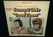 SONNY & CHER, Good Times,1967 Original Soundtrack, VINYL LP GOOD+, cover VG+