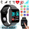 2020 Waterproof Bluetooth Smart Watch Phone Mate For iphone IOS Android Black