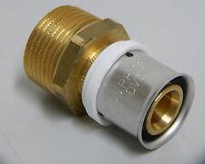 """Pressfitting-Übergang 25 x 2,5 mm - 1"""" Zoll Außengewinde"""