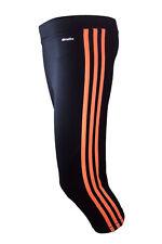 adidas Mädchen Sporthose Hose Trainingshose Clima 3/4 Tight Schwarz-pink 164
