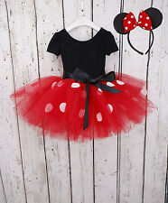 Kids Girl Snow White Princess Dress Minnie Mouse Halloween Costume Cos Clothes