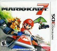 NINTENDO 3DS VIDEO GAME MARIO KART 7 BRAND NEW AND SEALED