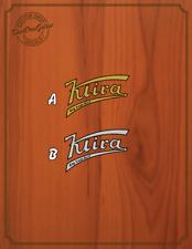 Klira Guitar Water Slide Decal
