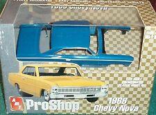 AMT PRO SHOP 1966 CHEVY NOVA 1/25 PREPAINTED PLASTIC MODEL KIT
