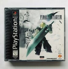 New listing Final Fantasy Vii 7 (Sony PlayStation 1) Black Label No Manual Ps1 All Discs