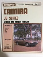 Gregorys Holden Camira JB Series 1982-1983 Service and Repair Manual