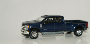 2019 ford f350 dually truck pickup blue '19 1/64 scale diecast model greenlight