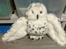 Folkmanis 12 Snowy Owl Hand Puppet Plush High End Toy Adorable Rotating Head