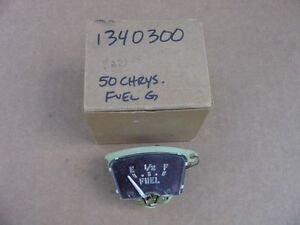 1950 Chrysler 6 Royal Windsor C48 NOS MoPar FUEL GAUGE #1340300