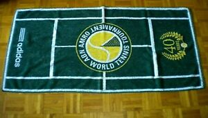 ABN AMRO WORLD TENNIS TOURNAMENT TOWEL 40 YEARAS ADIDAS Made in E.U.