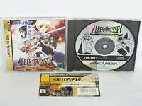Sega Saturn ALBERT ODYSSEY GAIDEN Legend of Eldean with SPINE CARD * JAPAN ss