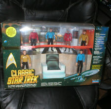 STAR TREK CLASSIC COLLECTION FIGURE SET, NEVER OPENED, LOW PRODUCTION NUMBER,