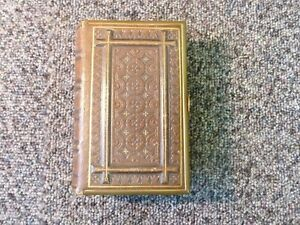 The Book Of Common Prayer & The Sacraments Leather with Brass Clasp 1865