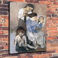 """Picasso-la coiffure caja impresa cuadro lienzo A1.30""""x20"""" Marco 30 mm profundo"""
