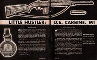 1954 U.S M1 Carbine L'il Hustler 10-page Article