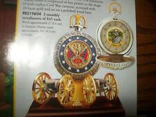 Civil War Pocket Watch - Franklin Mint - NEW