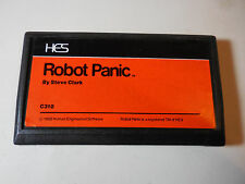 Commodore Vic-20 computer cartridge - Robot Panic - WORKS