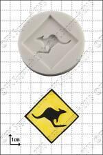 Stampo in silicone Kangaroo segno   uso alimentare FPC Sugarcraft spedizione gratuita in UK!