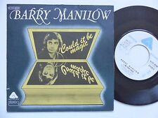 BARRY MANILOW Could it be magic 2C010 96806 Pressage France rrr