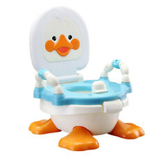 2 In 1 Baby Potty Training Urinal Blue Duck Detachable Toddler Toilet Trainer